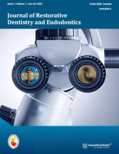 Journal of Restorative Dentistry and Endodontics